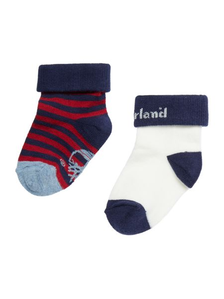 Timberland Baby boy Set of 2 pair of socks