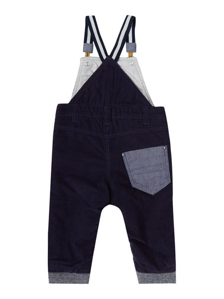 Timberland Baby boy Velvet dungarees