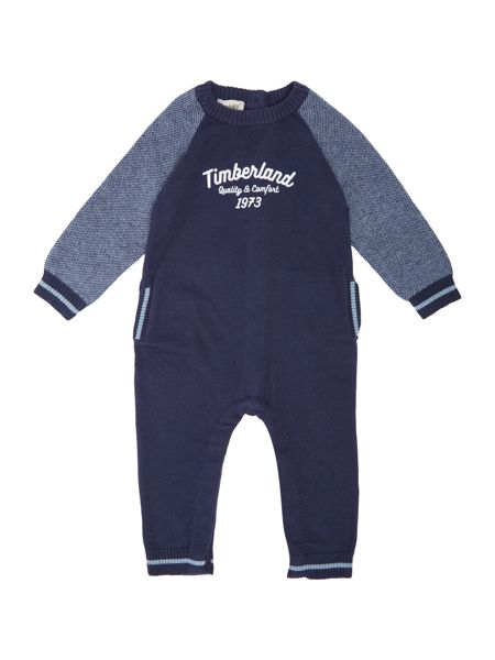 Timberland Baby boys Knitted overalls