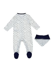 Timberland Set of pyjamas and bib