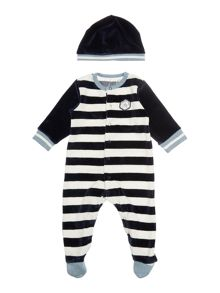 Timberland Baby boy Set of pyjamas and bib