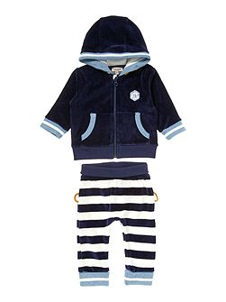 Baby boy reversible track suit