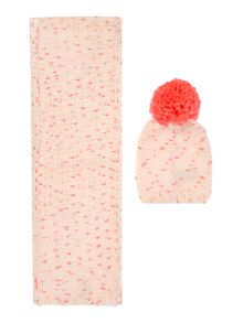 Billieblush Baby girls Set of a hat and scarf