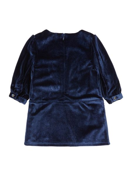 Billieblush Baby girls Long sleeve velvet dress