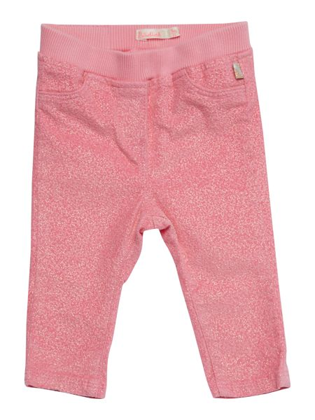 Billieblush Baby girls Glittery velvet trousers