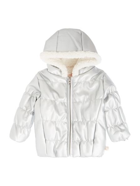 Billieblush Baby girls Iridescent puffer jacket