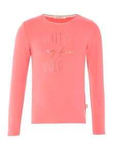 Billieblush Girls Long sleeve t-shirt