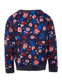 Billieblush Girls Neoprene sweatshirt