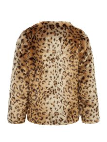 Billieblush Girls Faux-Fur Coat
