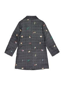 Billieblush Girls Jacquard Coat