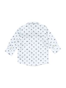 Billybandit Baby boys dog-print shirt
