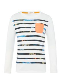 Billybandit Boys Striped T-Shirt
