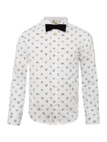 Billybandit Boys animal-print shirt