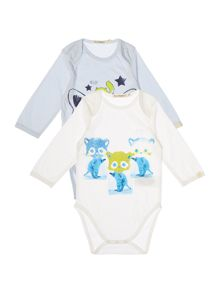Billybandit Set of 2 cotton Bodysuits