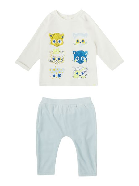 Billybandit Baby boy  trousers and t-shirt set