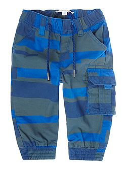 Baby boys Stripped twill trousers