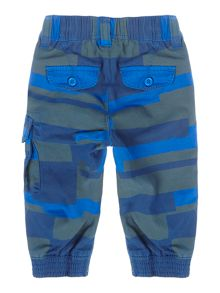 Little Marc Jacobs Baby boys: Stripped twill trousers