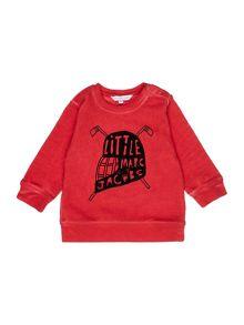 Little Marc Jacobs Baby boys Fleece sweater
