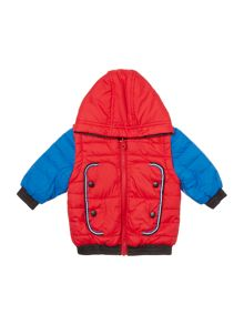 Little Marc Jacobs Baby boys Reversible puffer jacket