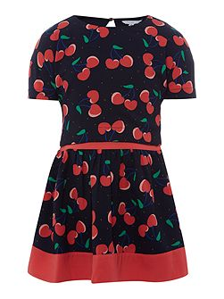 Girls All over printed dress