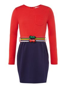 Little Marc Jacobs Girls Long sleeve dress