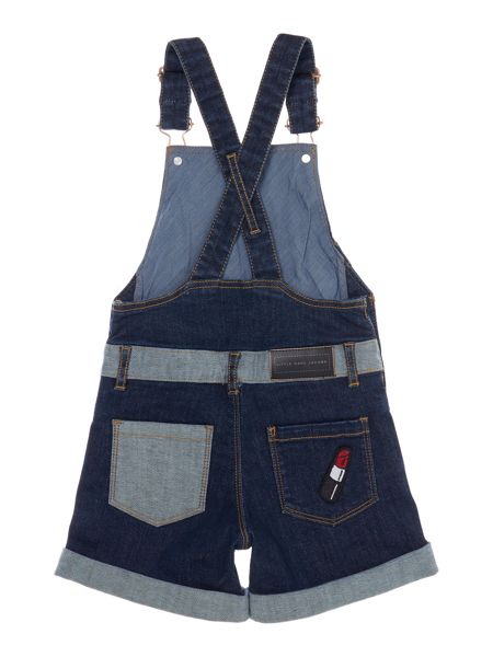 Little Marc Jacobs Girls Dungarees