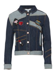 Little Marc Jacobs Girls Denim jacket
