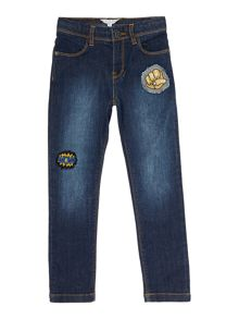 Little Marc Jacobs Boys: Denim trousers