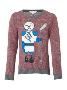 Little Marc Jacobs Boys Knitted sweater