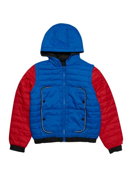 Little Marc Jacobs Boys: Reversible puffer jacket