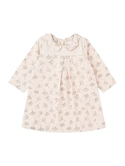 Baby Girls Flower-Print Dress