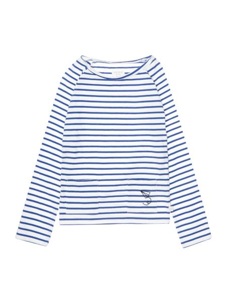Carrement Beau Boys Striped Jersey T-Shirt