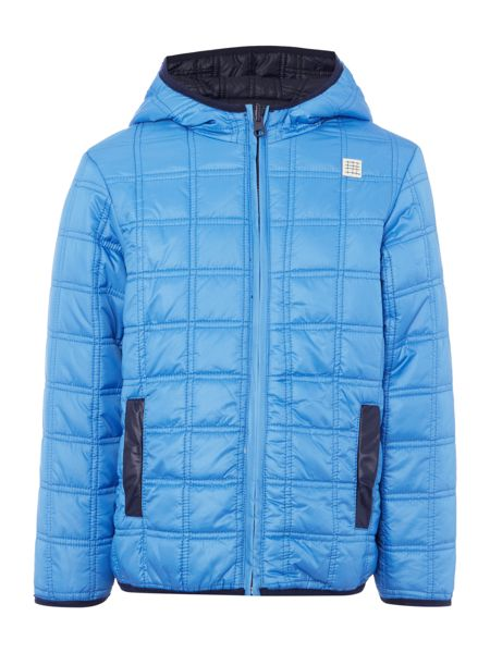 Carrement Beau Boys Reversible puffer jacket
