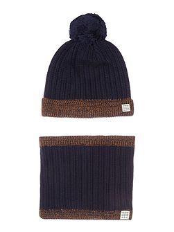 Boys Hat and Snood Set