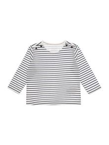 Carrement Beau Baby boys Stripped long sleeve t-shirt