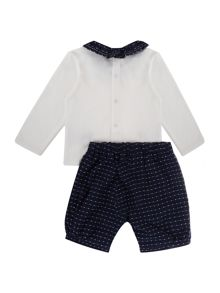 Carrement Beau Baby girls: T-shirt and bloomers set