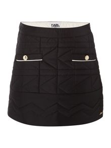 Karl Lagerfeld Girls Quilted Skirt