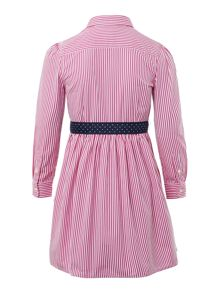 Polo Ralph Lauren Girls Bengal Stripe Shirt Dress