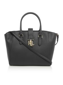 Lauren Ralph Lauren Carrington black tote bag