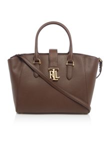 Lauren Ralph Lauren Carrington brown tote bag