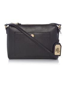 Lauren Ralph Lauren Newbury black cross body bag