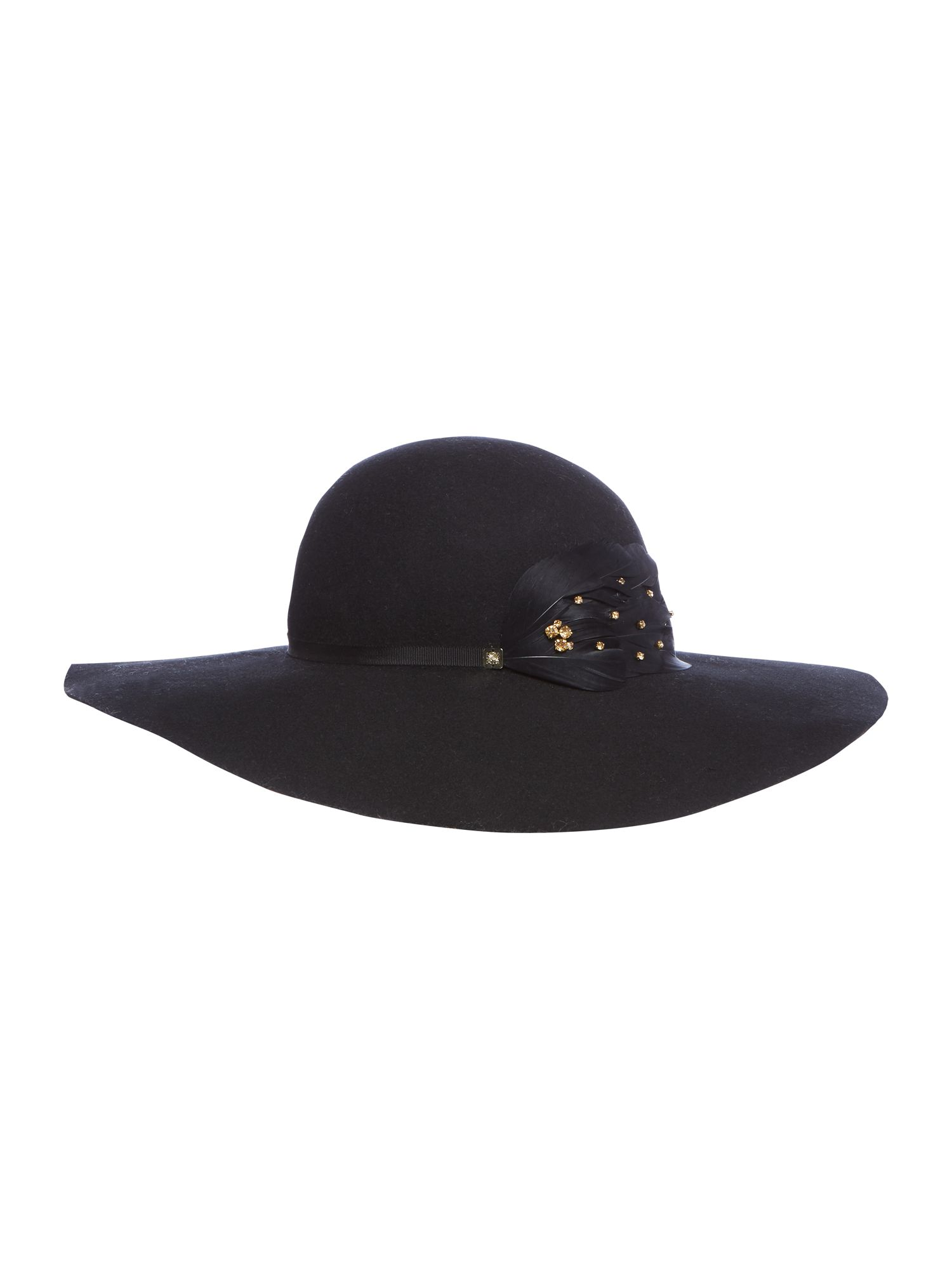biba biba jewelled floppy hat