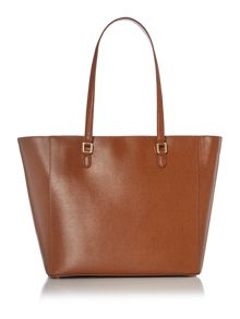 Lauren Ralph Lauren Newbury tan large tote bag