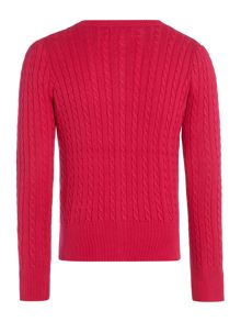 Polo Ralph Lauren Girls Cable Knit Cardigan