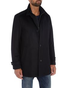 Hugo Boss Camlow wool cashmere mix coat