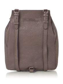 Just Cavalli Bubble calf grey backpack