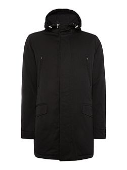 Deaco down padded hoodied parker jacket