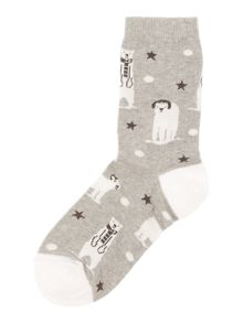 Therapy Headphones polar bear socks