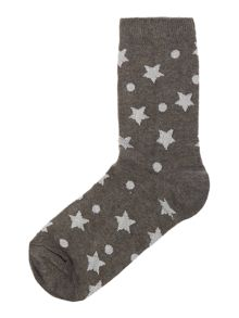 Therapy Metallic star socks