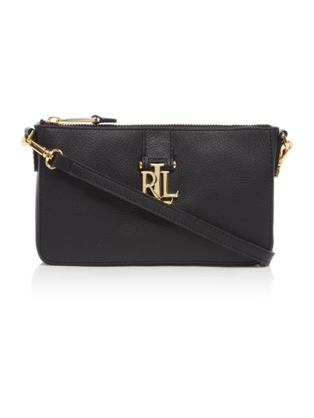 Lauren Ralph Lauren Carrington black shoulder bag